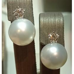 Orecchini con perle...